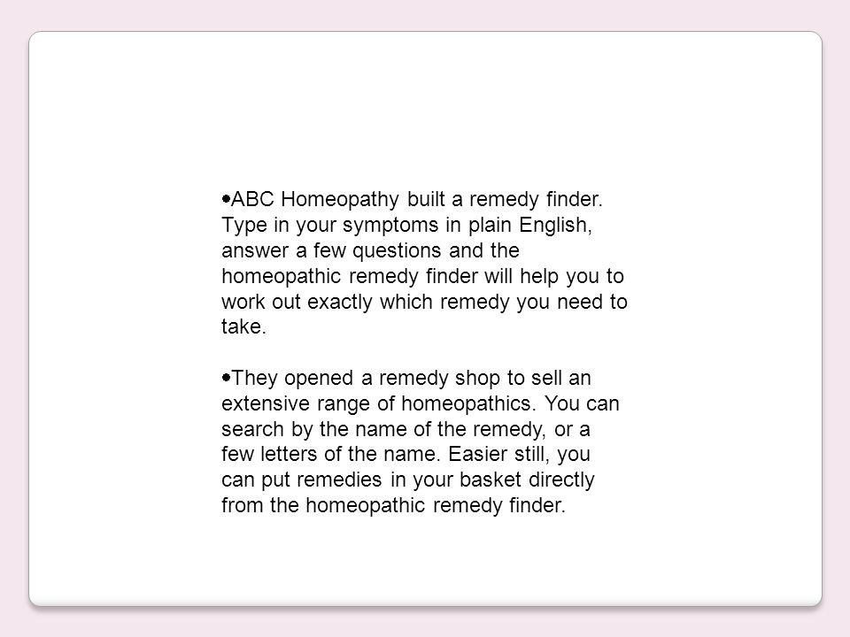 Abc homeopathy remedy finder download