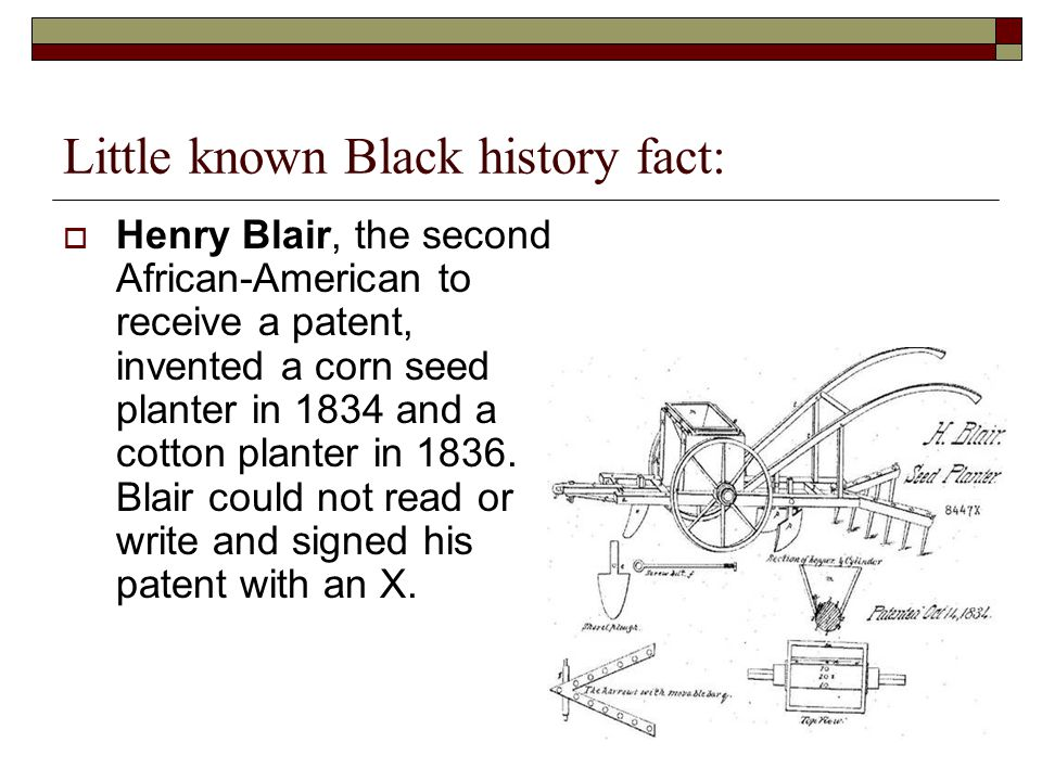 Little Known Black History Fact Ppt Video Online Download