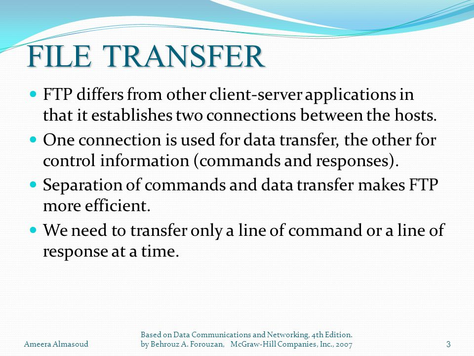 File Transfer Protocol (FTP) - ppt download