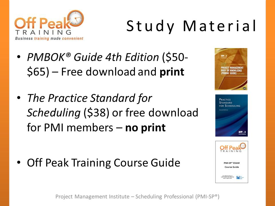 Project Scheduling The Pmi Sp Credential Ppt Video Online Download