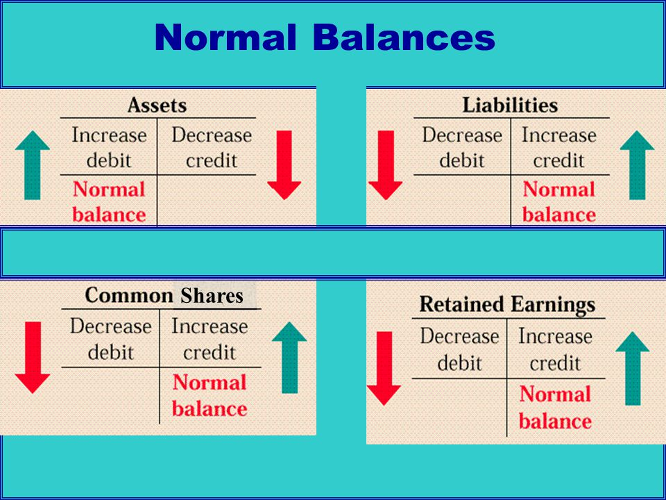 Normal Balances Shares