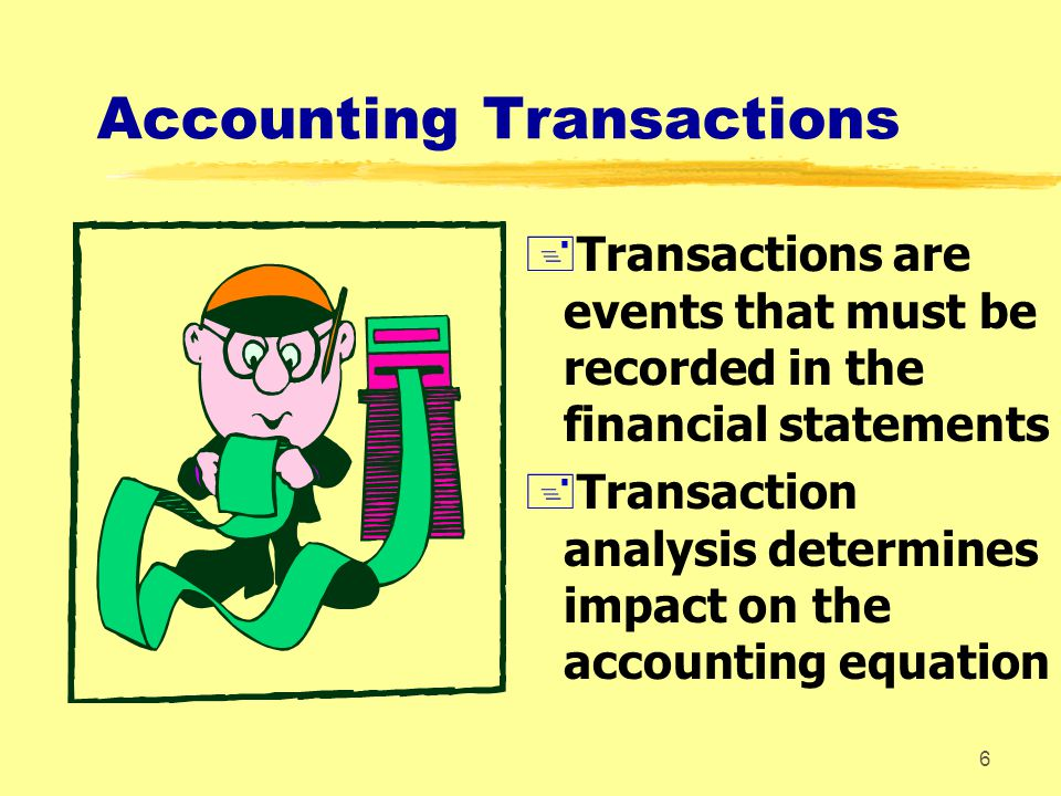 Accounting Transactions