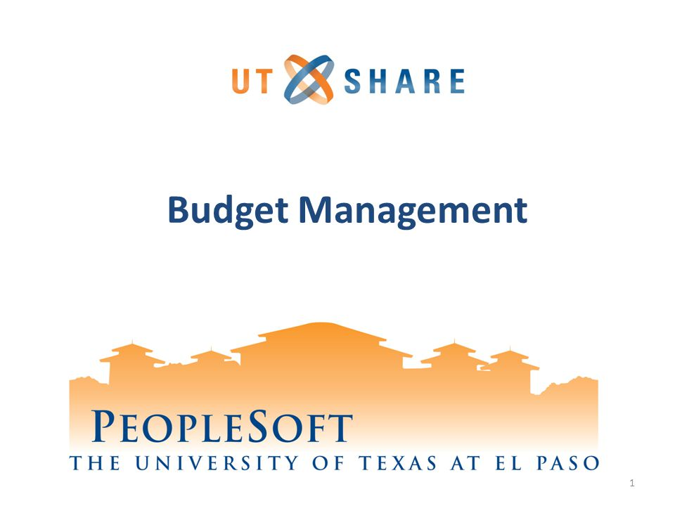 budget management Financial responsibilities of budget managers a budget manager, as defined by loyola university new orleans, is anyone named as the responsible individual for an.