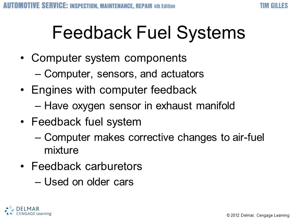 Feedback Fuel Systems Computer system components