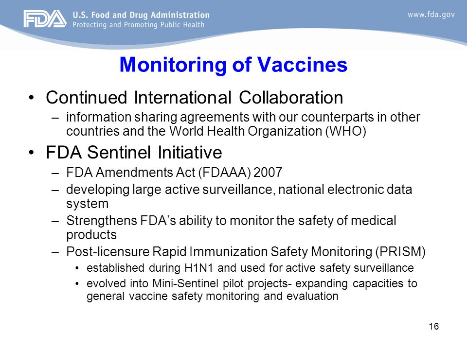 FDA Research Unique Perspective- research activities in conjunction with regulatory activities.
