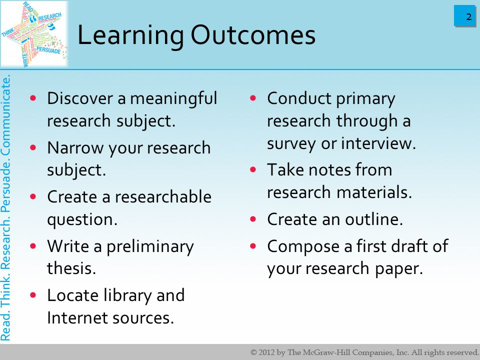 primary research papers