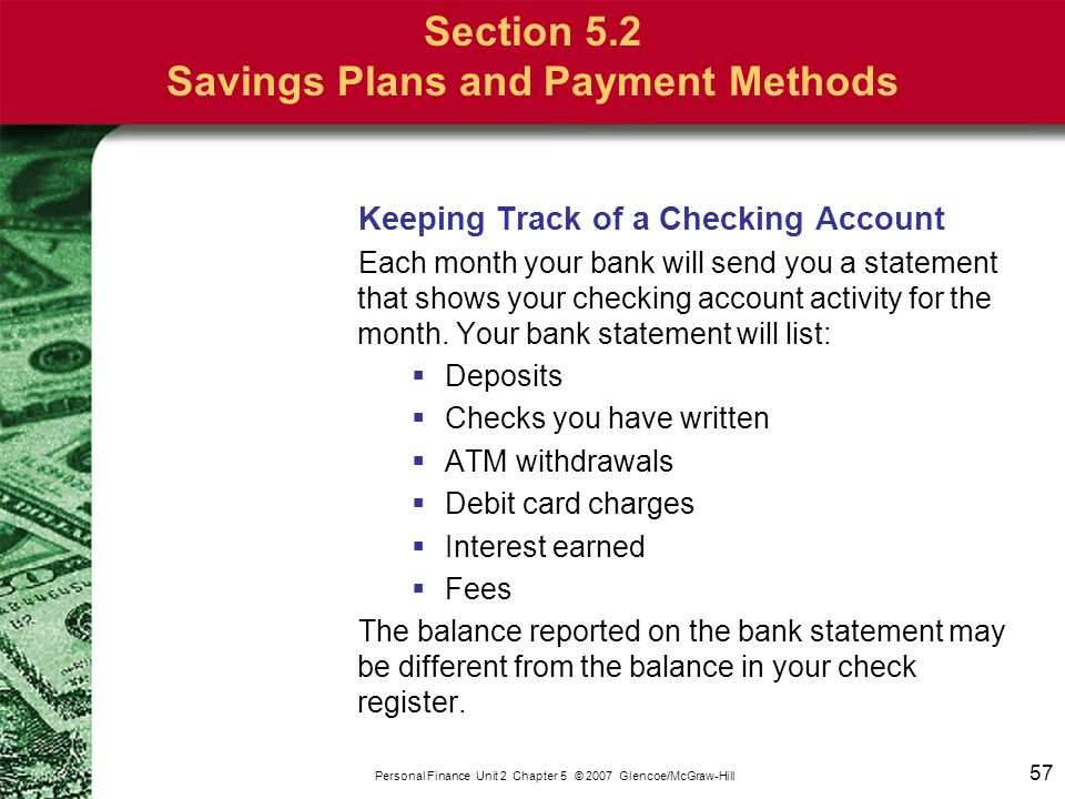Chapter 5 Banking What You'll Learn Section 5 1 Section ppt