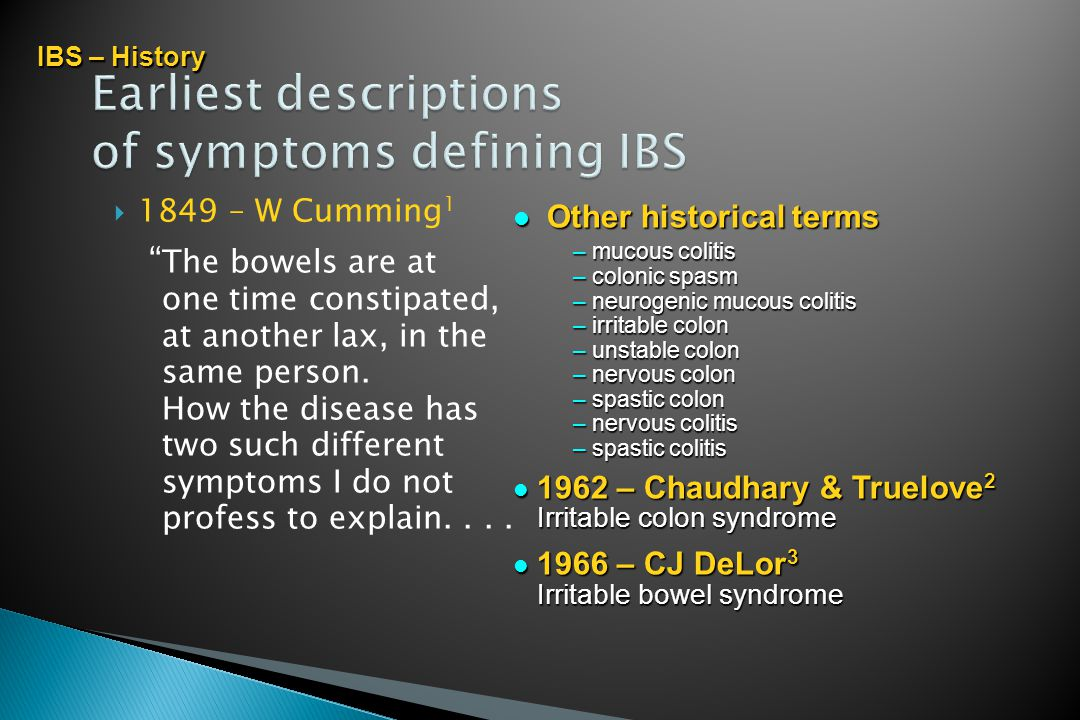 IRRITABLE BOWEL SYNDROME - ppt download