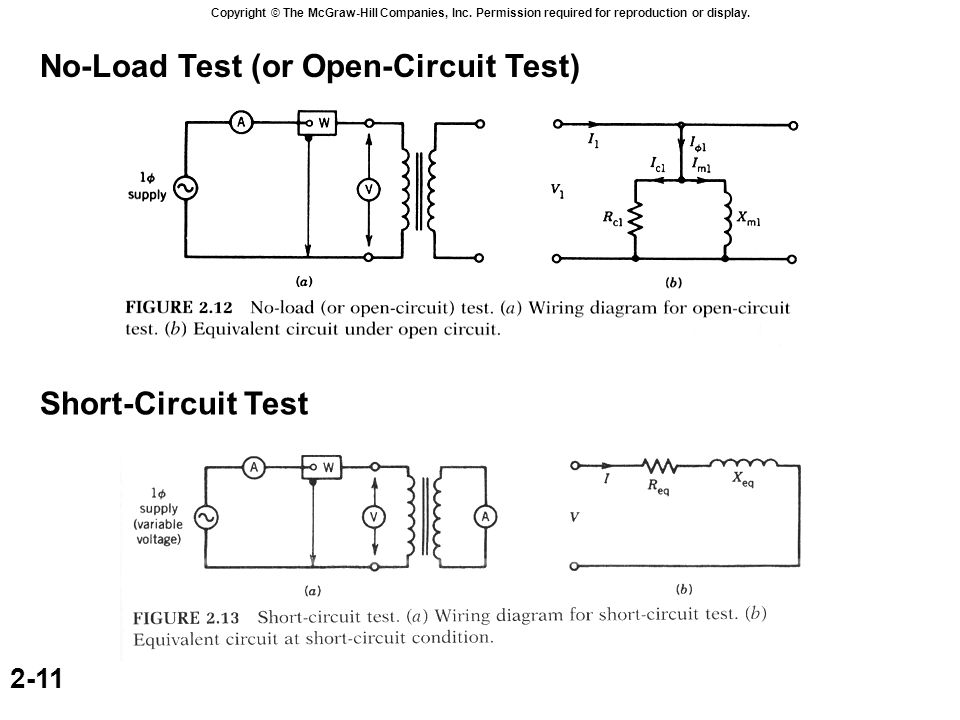 transformer with open secondary ppt video online download rh slideplayer com 13 Circuit Court USB Schematic