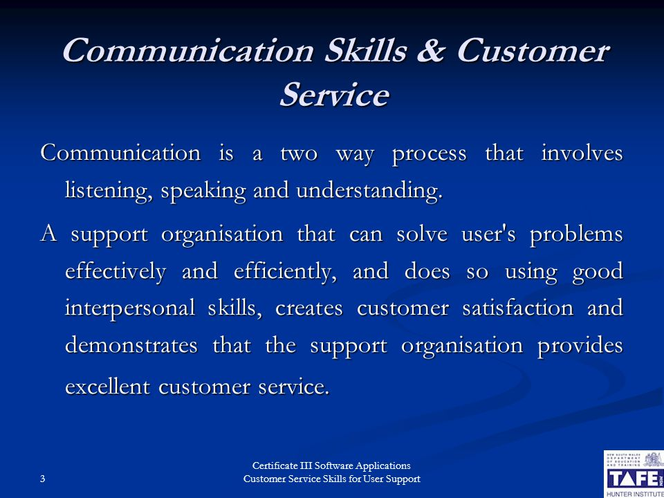 what is good customer service skills