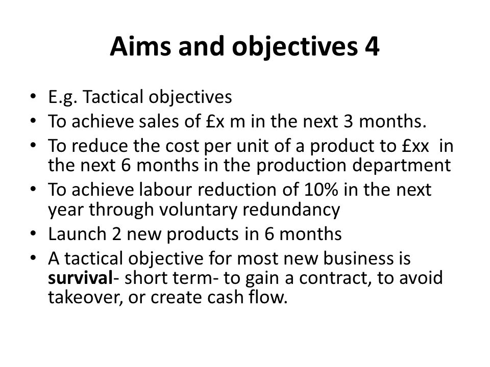 aims and objectives of apple inc