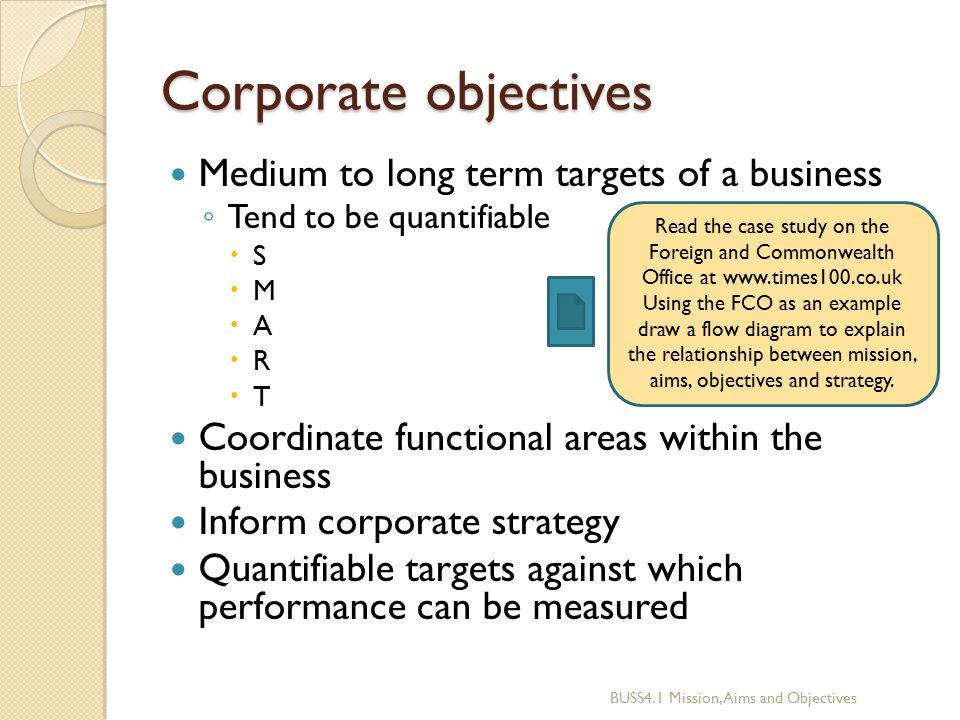 """tescos aims and objectives Marketing objectives set out what a business wants to achieve from its marketing activities they need to be consistent with overall aims and objectives of the business they also provide an important focus for the marketing team marketing is """"the process of identifying, anticipating (predicting."""