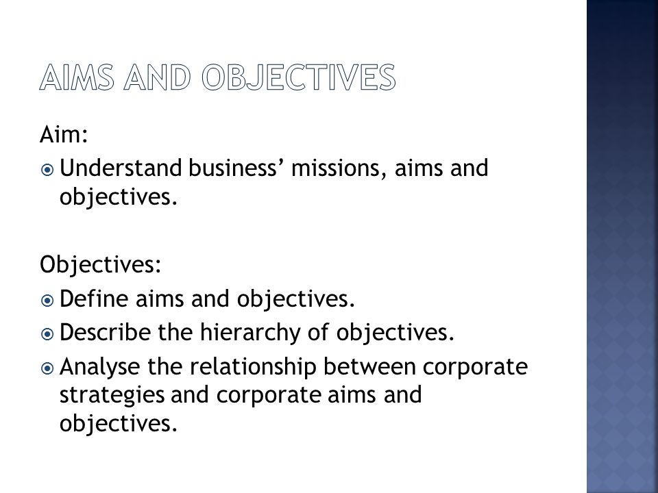objectives of multinational companies