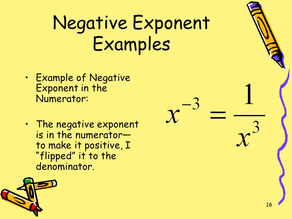Mathematics 9 lesson 5: zero and negative exponents.