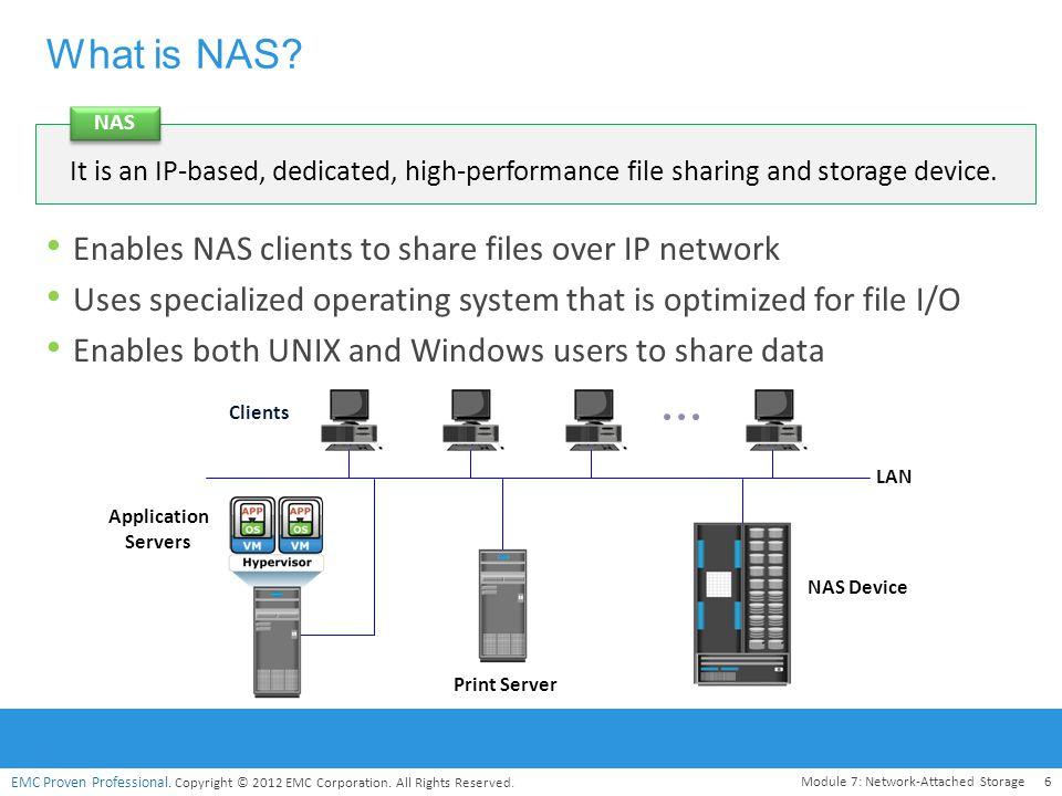 Module – 7 network-attached storage (NAS) - ppt video online download