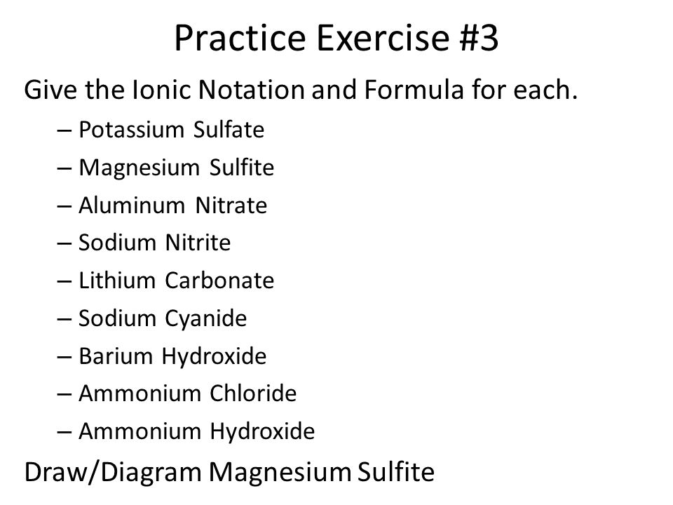 Naming Ionic Compounds Ppt Video Online Download