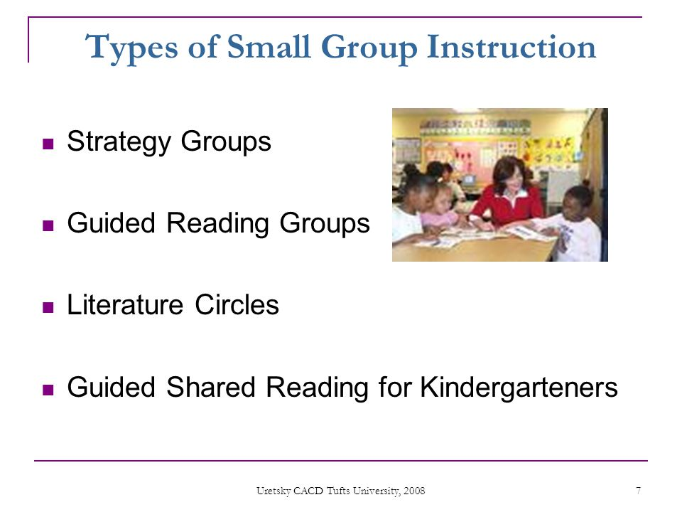 Small Group Instruction In The Primary Grades K 2 Ppt Video