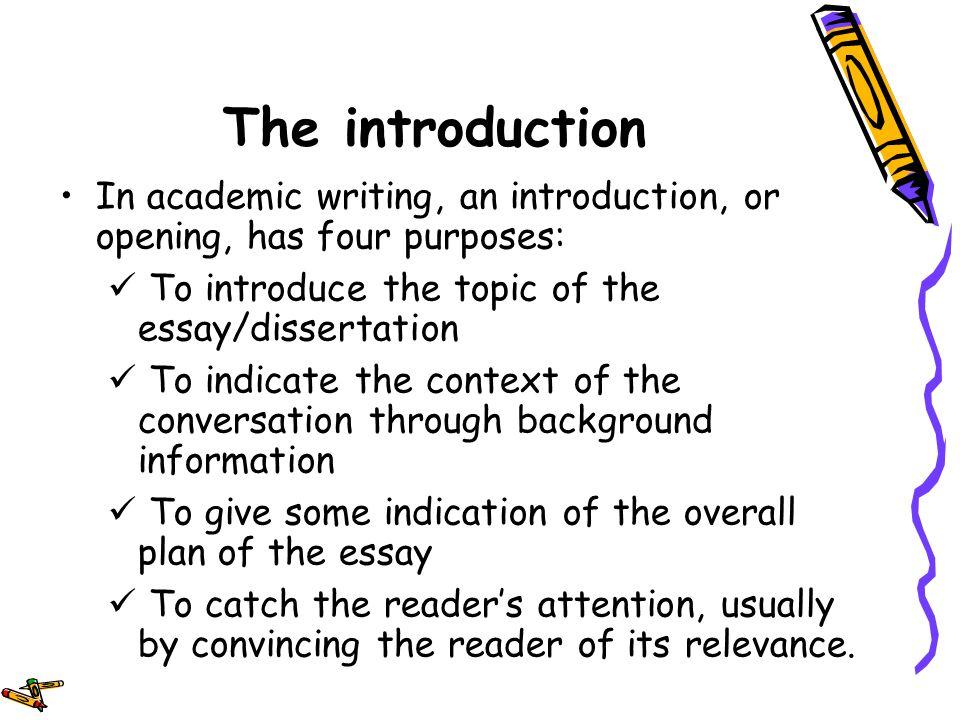 intro to academic writing