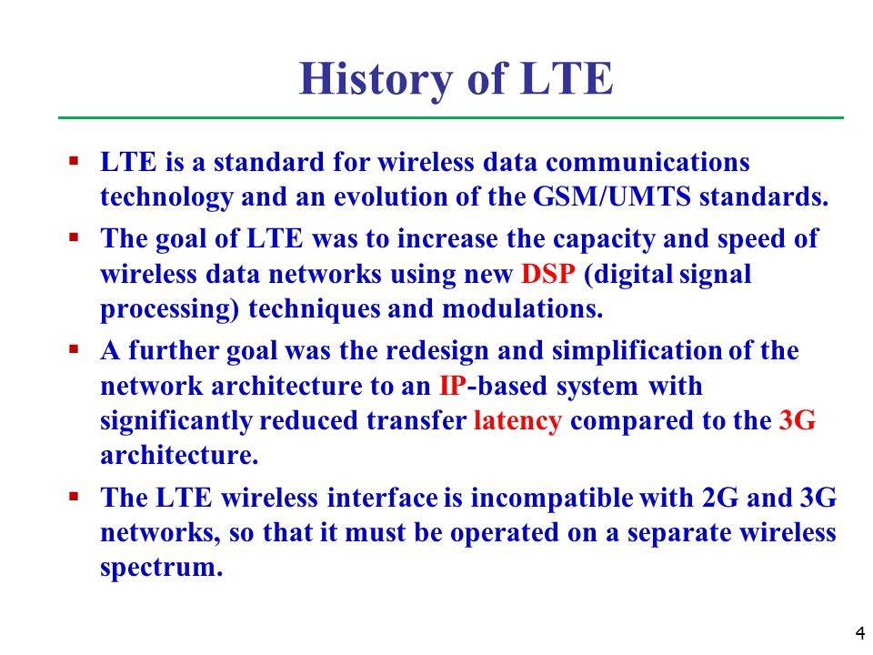 An Introduction of 3GPP Long Term Evolution (LTE) - ppt