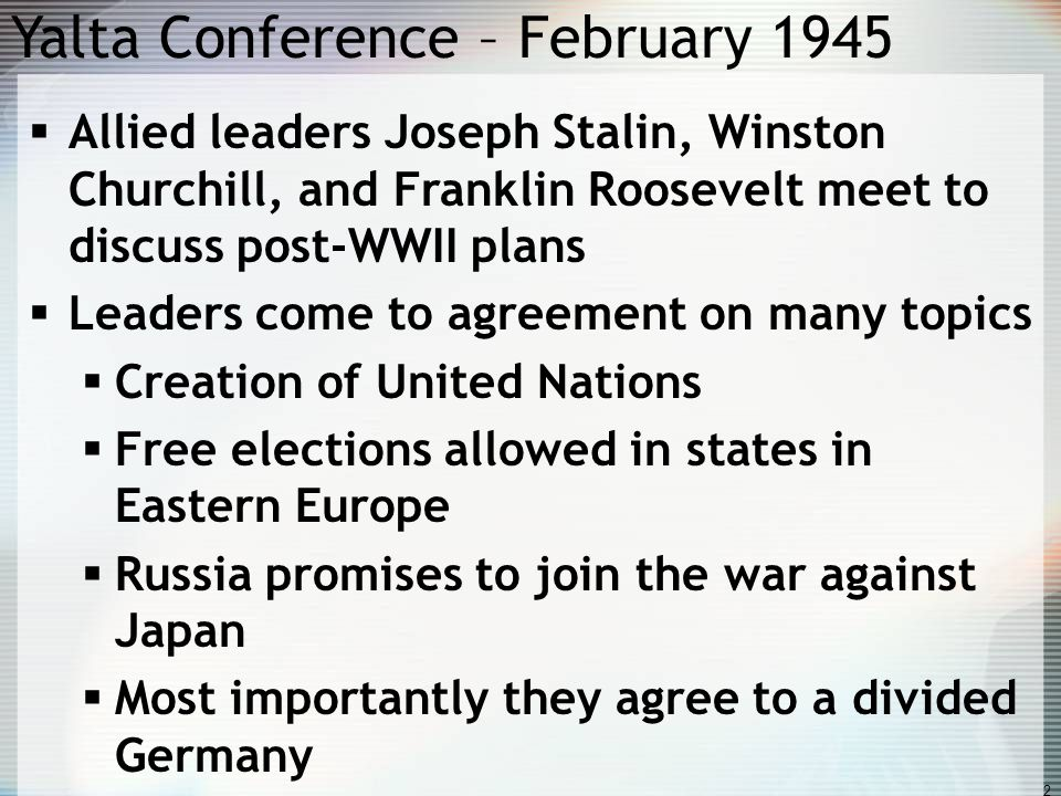 Image result for world war 2 yalta conference