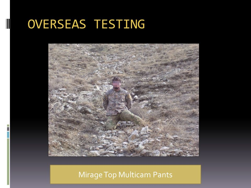 Mirage Top Multicam Pants