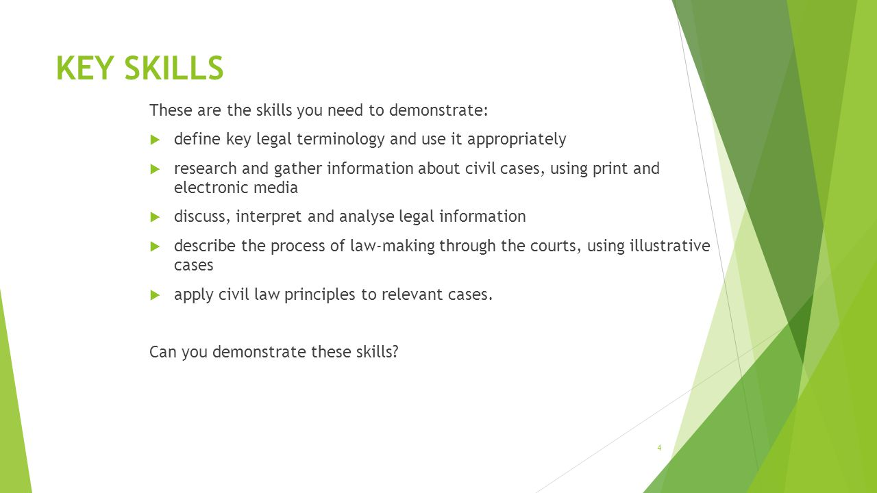 What is civil law