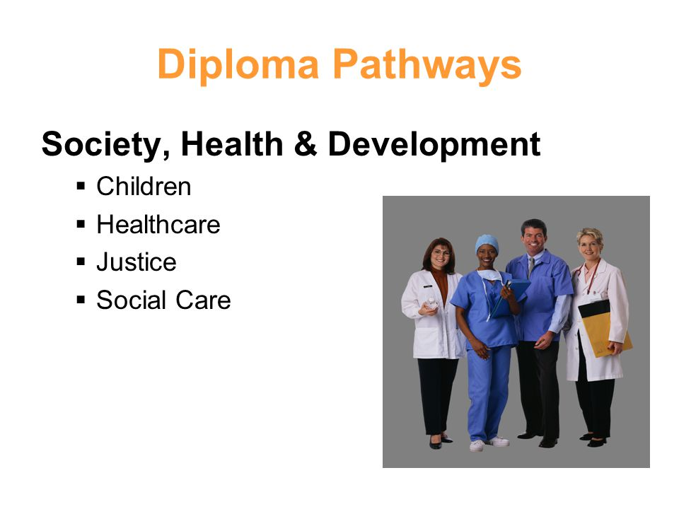 Diploma Pathways Society, Health & Development Children Healthcare