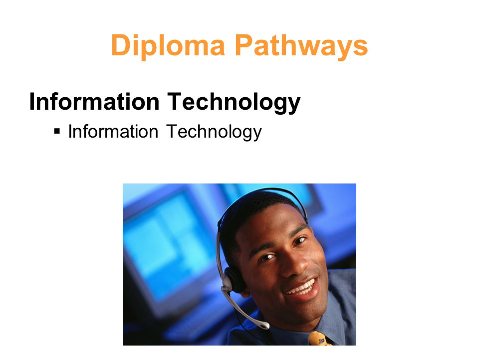Diploma Pathways Information Technology