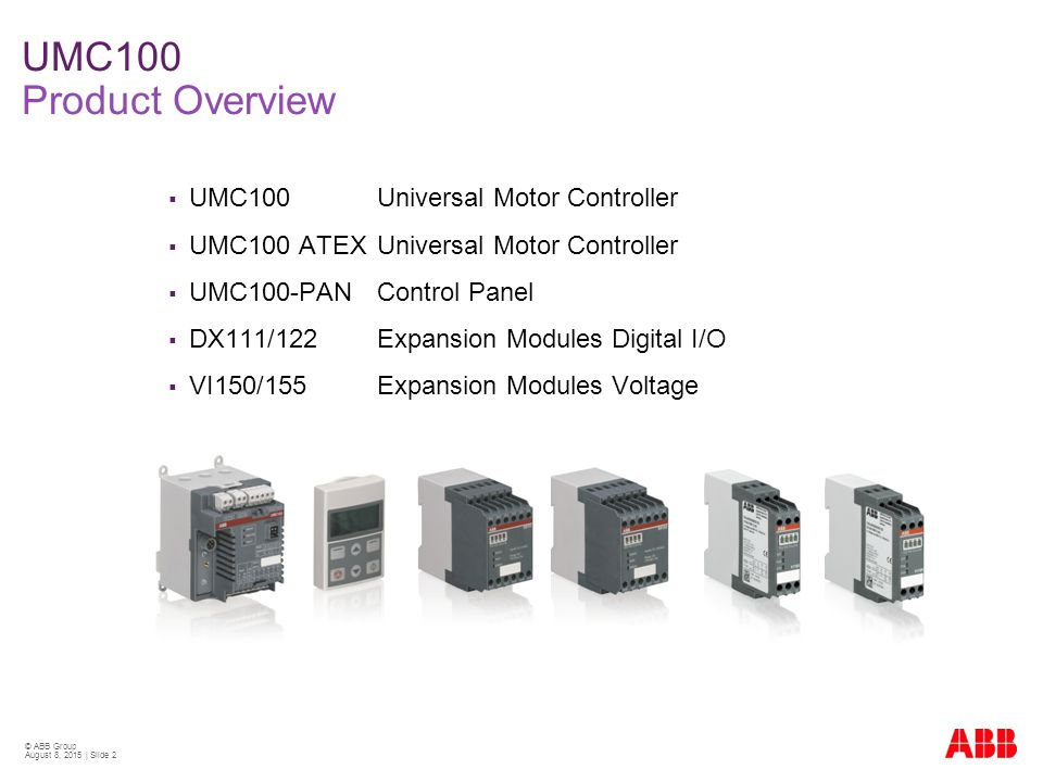 Abb Umc100 Manual Pdf Download
