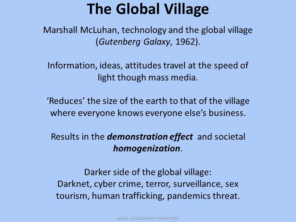 marshall mcluhan global village meaning