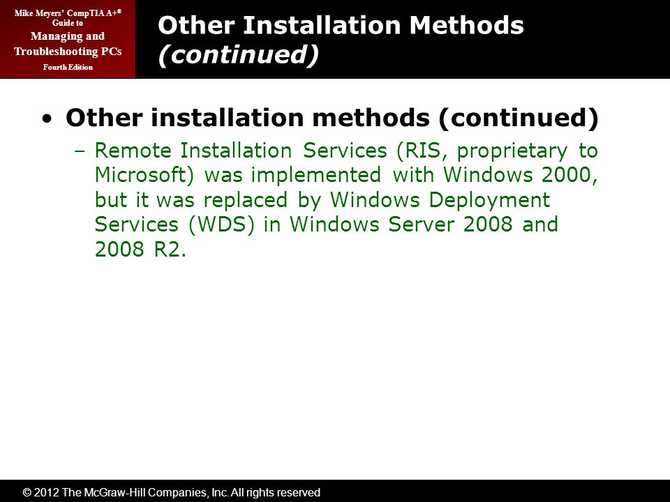 Installing and Upgrading Windows - ppt download