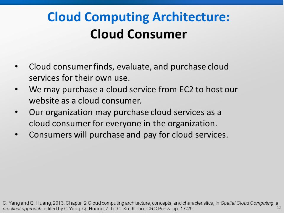 Cloud Computing Architecture | Chapter 2 Cloud Computing Architecture Concepts And