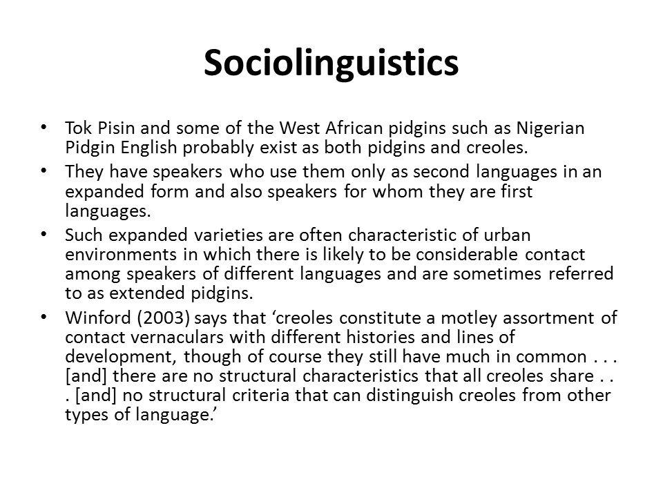 Sociolinguistics Lecture Ppt Download