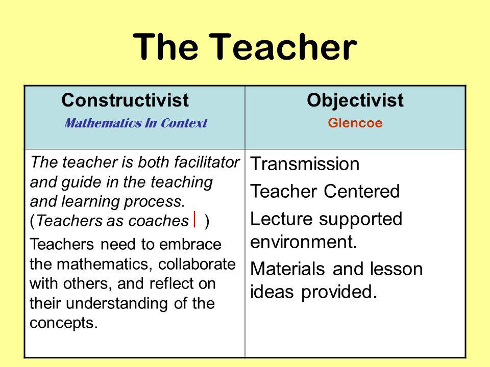 constructivist math