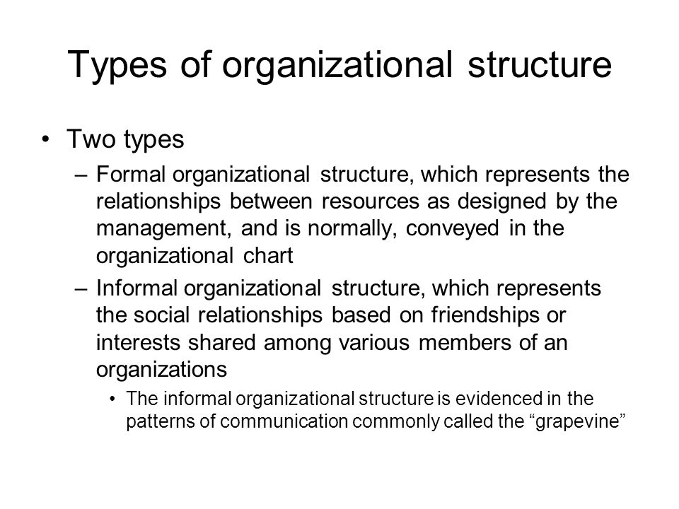 the importance of organizational structure to the success and failure of an organization Can an organization service the needs of the clients/customers  organizational empathy (1)  employees are valuable assets of an organization and the key to success.