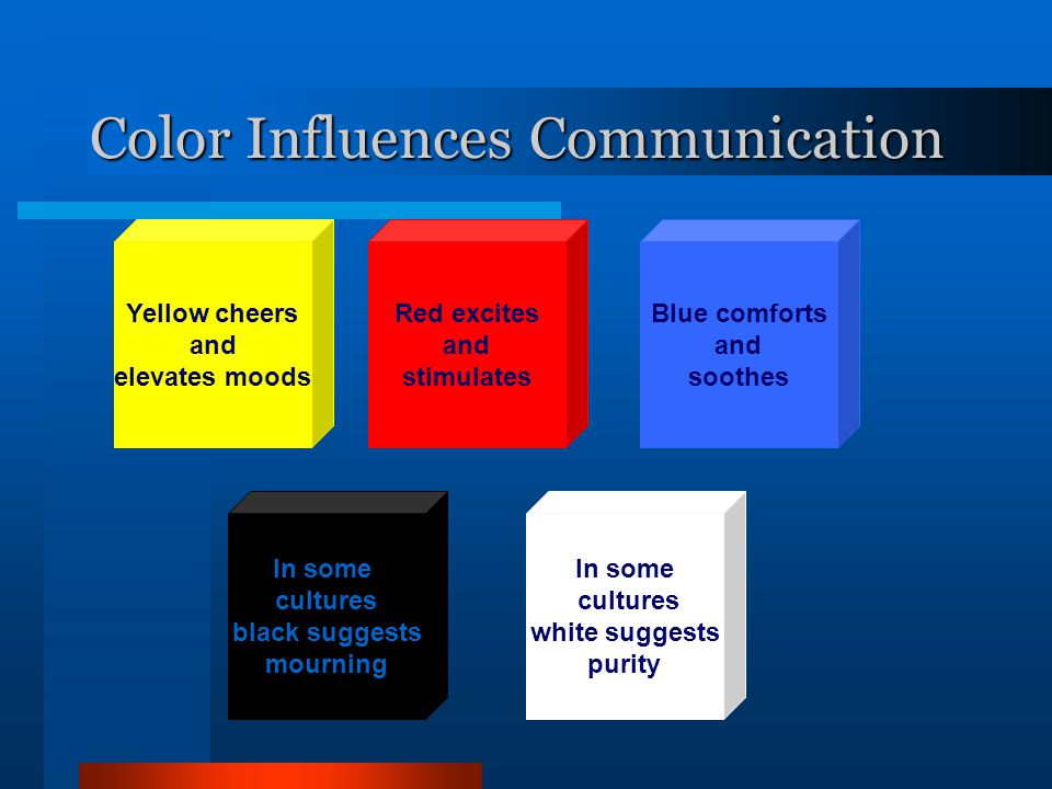 Color Influences Communication