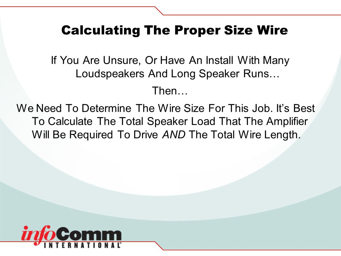 Fancy speaker load calculator sketch best images for wiring steve brooks atlas sound tech support manager ppt video online greentooth Choice Image