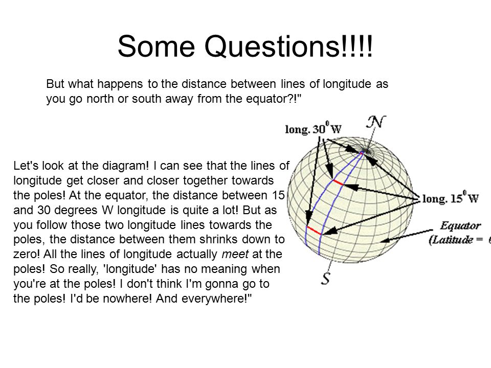 Longitude and Latitude - ppt video online download