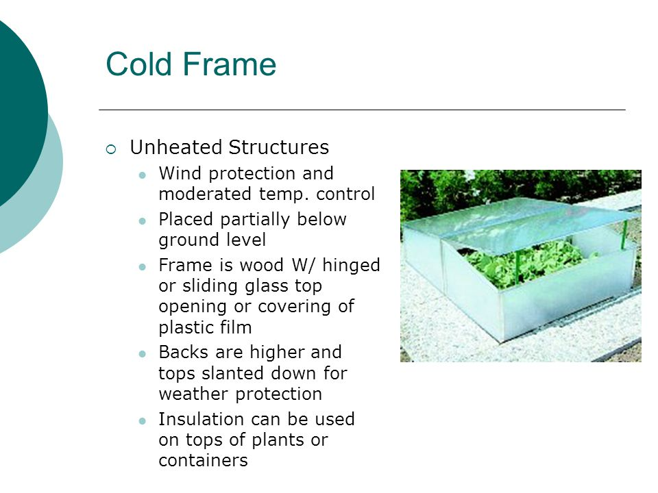 Greenhouse Structures - ppt video online download
