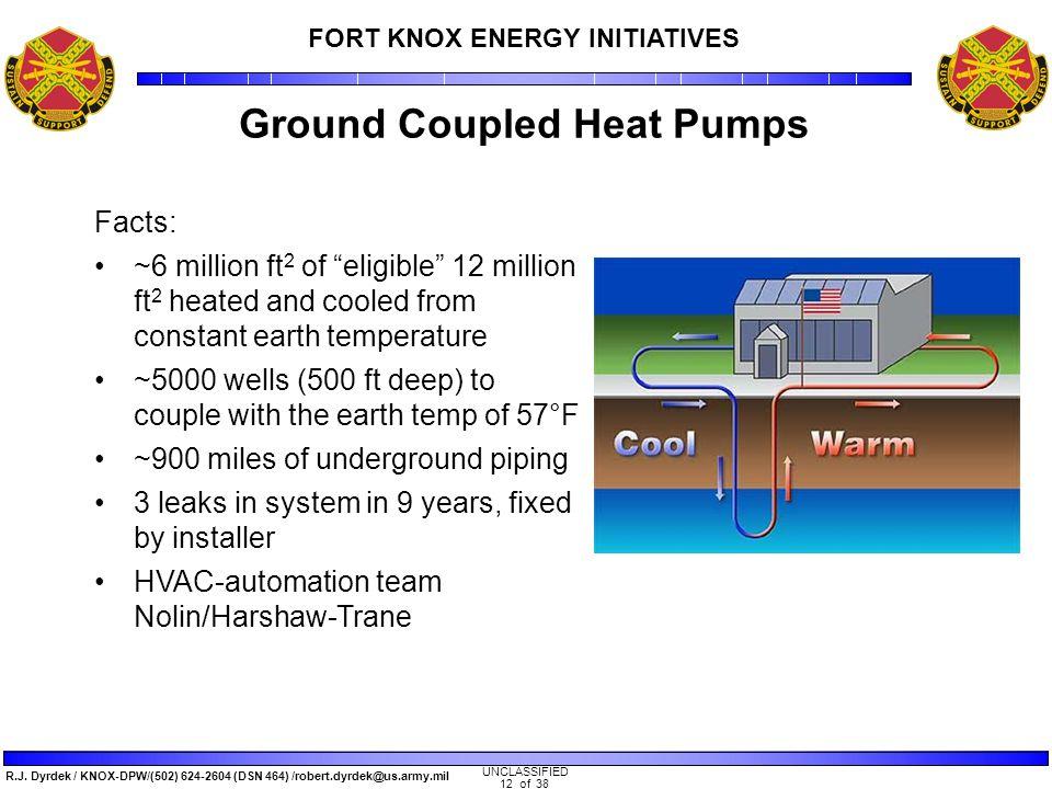 Trane's DOE GHP Super ESPC Fort Knox Energy Program - ppt video