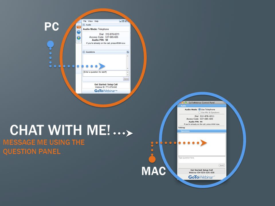 PC CHAT WITH ME! MESSAGE ME USING THE QUESTION PANEL MAC