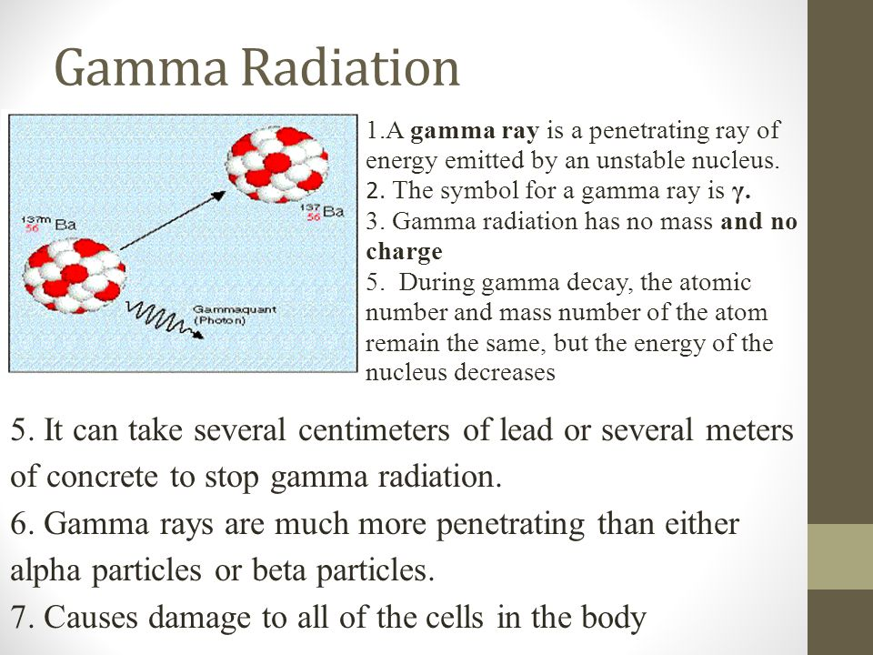 Types Of Nuclear Radiation Ppt Video Online Download