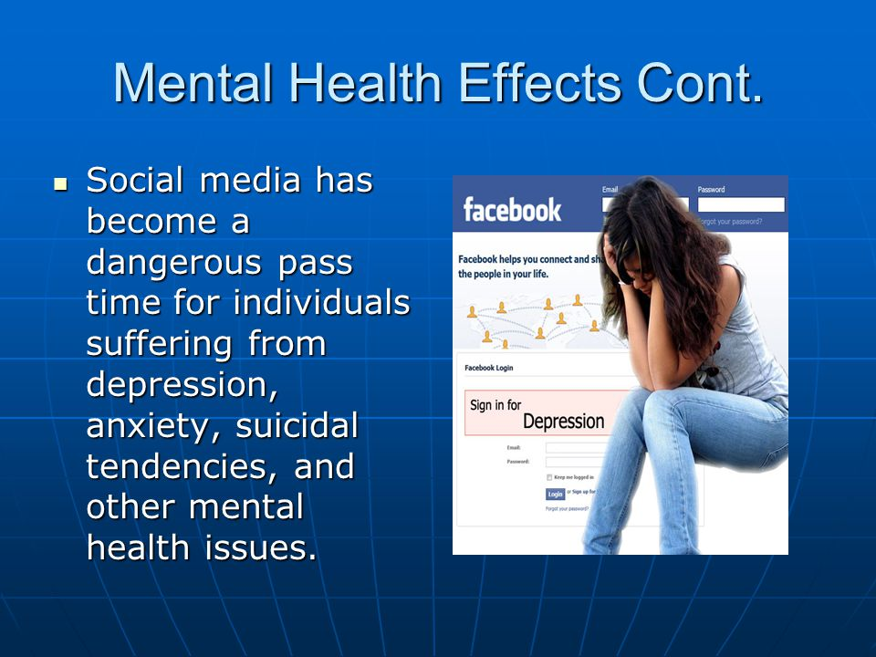 how does social media affect peoples lives
