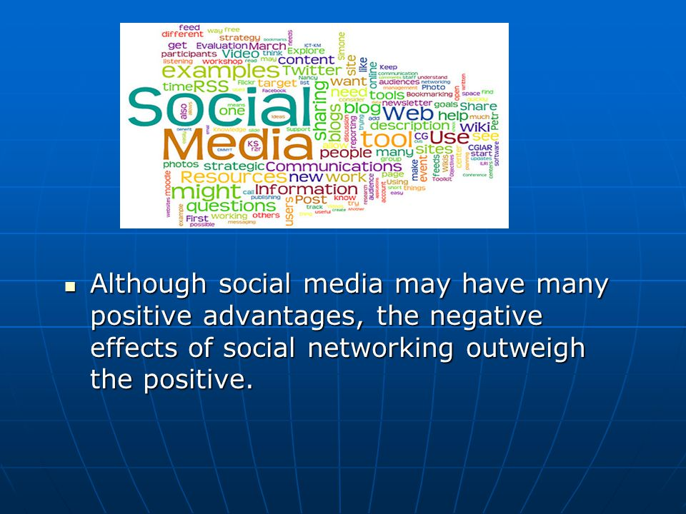 how does social media affect communication skills negatively
