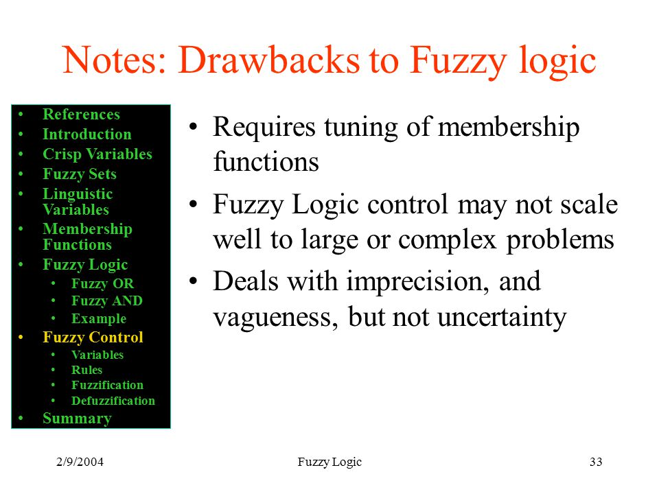 Introduction to Fuzzy Logic Control - ppt video online download