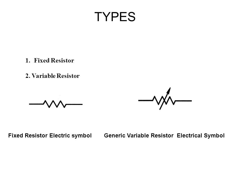 RESISTORS Resistors limit current, create voltage drops - ppt download