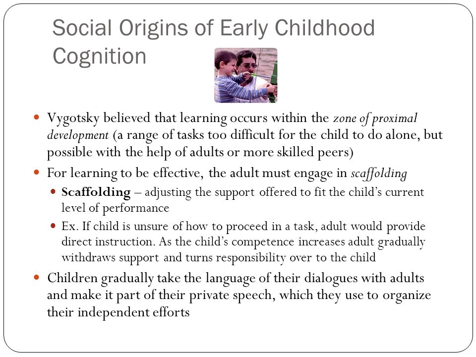 Cognitive Development In Early Childhood Ppt Download