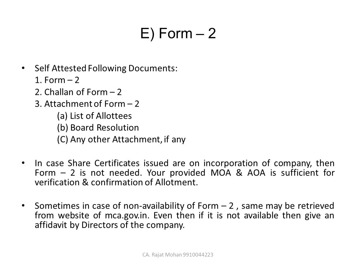 On Share Certificates in Delhi - ppt video online download