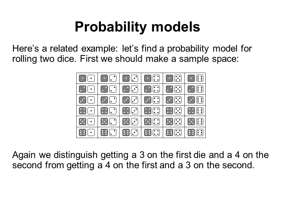 An example of a probability model based on the modelica language.
