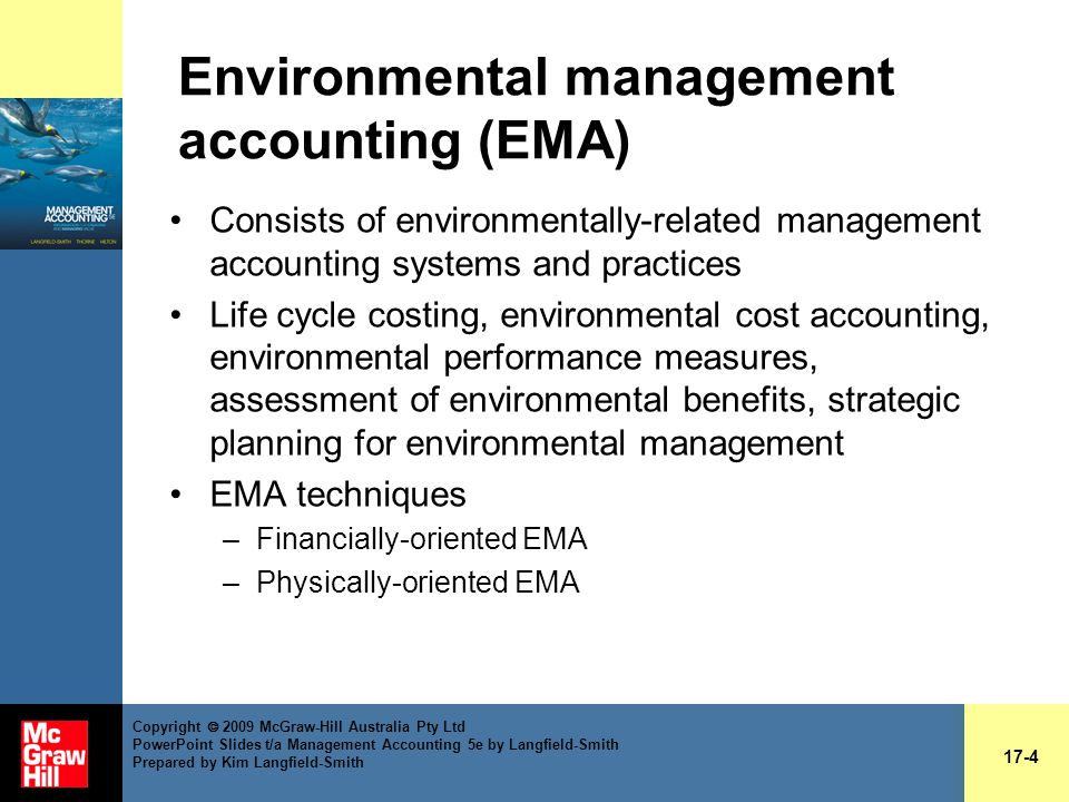 Chapter 17 Sustainability And Management Accounting Ppt